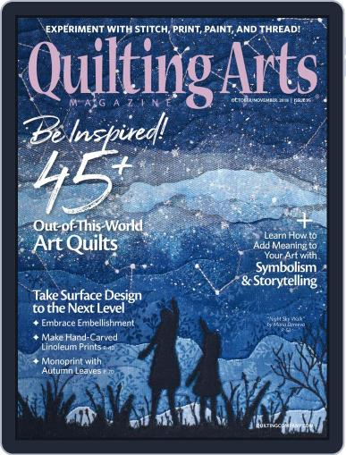 Quilting Arts (Digital) September 13th, 2018 Issue Cover