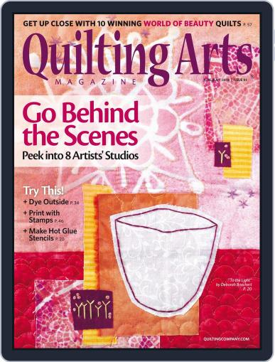 Quilting Arts (Digital) June 1st, 2018 Issue Cover