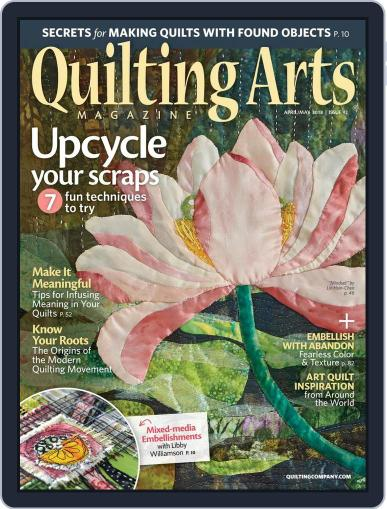 Quilting Arts (Digital) March 15th, 2018 Issue Cover