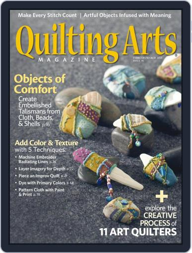 Quilting Arts January 12th, 2018 Digital Back Issue Cover