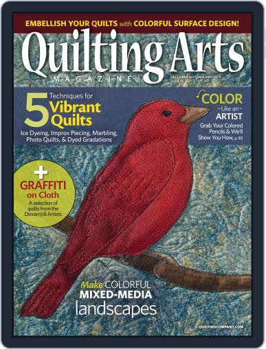 Quilting Arts (Digital) December 1st, 2017 Issue Cover