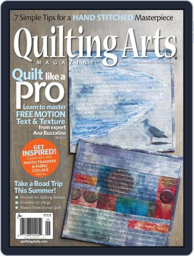 Quilting Arts (Digital) August 1st, 2017 Issue Cover