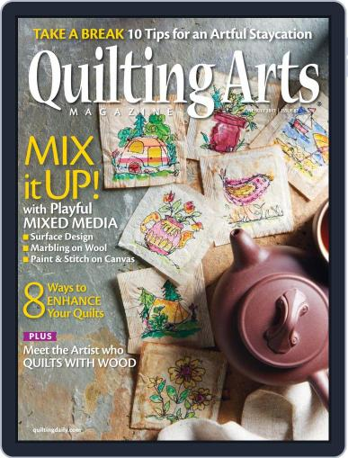 Quilting Arts (Digital) June 1st, 2017 Issue Cover