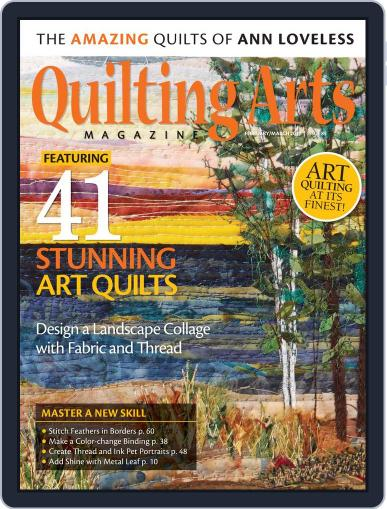 Quilting Arts (Digital) February 1st, 2017 Issue Cover