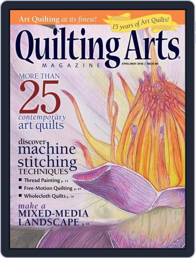Quilting Arts (Digital) March 22nd, 2016 Issue Cover