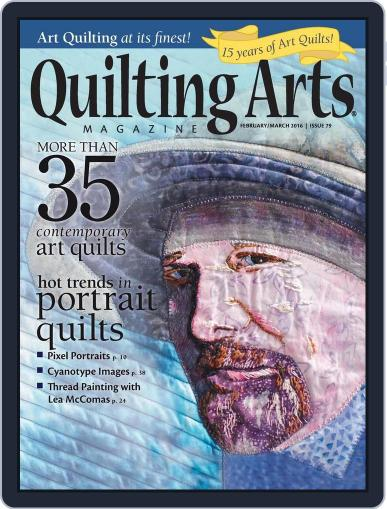 Quilting Arts (Digital) January 13th, 2016 Issue Cover