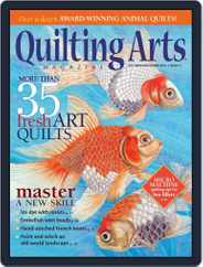 Quilting Arts (Digital) Subscription September 8th, 2015 Issue