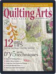 Quilting Arts (Digital) Subscription January 14th, 2015 Issue