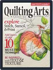 Quilting Arts (Digital) Subscription July 10th, 2013 Issue