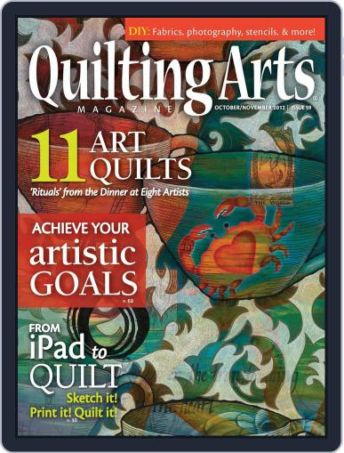 Quilting Arts September 19th, 2012 Digital Back Issue Cover