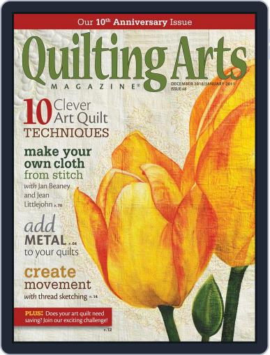 Quilting Arts (Digital) June 12th, 2012 Issue Cover