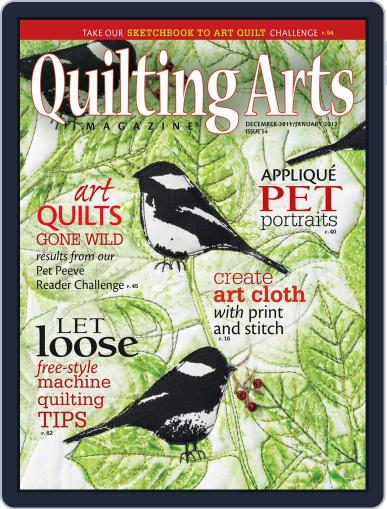 Quilting Arts (Digital) November 23rd, 2011 Issue Cover