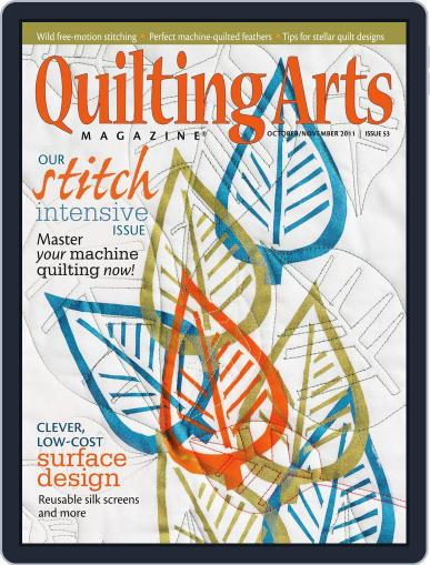 Quilting Arts (Digital) September 22nd, 2011 Issue Cover