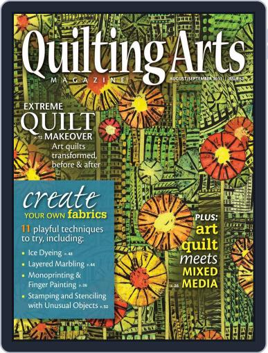 Quilting Arts (Digital) July 20th, 2011 Issue Cover