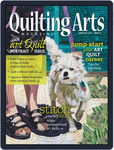 Quilting Arts (Digital) May 25th, 2011 Issue Cover