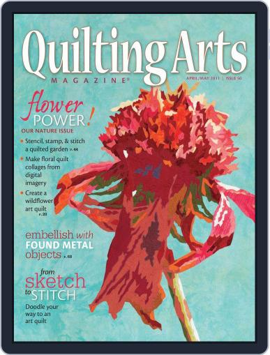 Quilting Arts (Digital) March 25th, 2011 Issue Cover