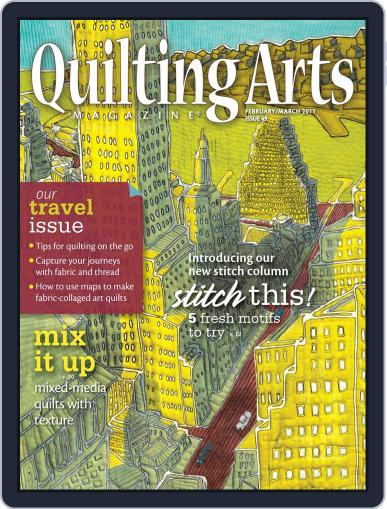 Quilting Arts January 11th, 2011 Digital Back Issue Cover
