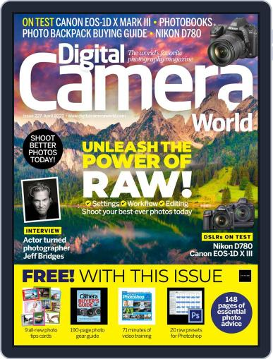 Digital Camera World April 1st, 2020 Issue Cover