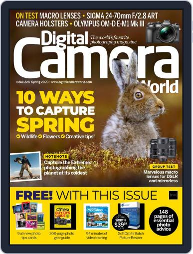 Digital Camera World March 27th, 2020 Issue Cover