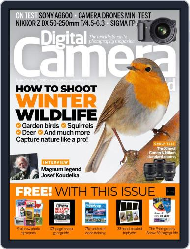 Digital Camera World March 1st, 2020 Issue Cover
