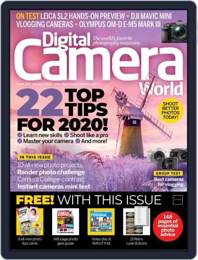 Digital Camera World January 1st, 2020 Issue Cover