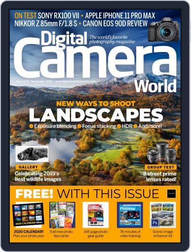 Digital Camera World November 1st, 2019 Digital Back Issue Cover