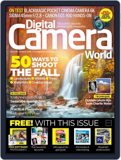 Digital Camera World October 1st, 2019 Issue Cover