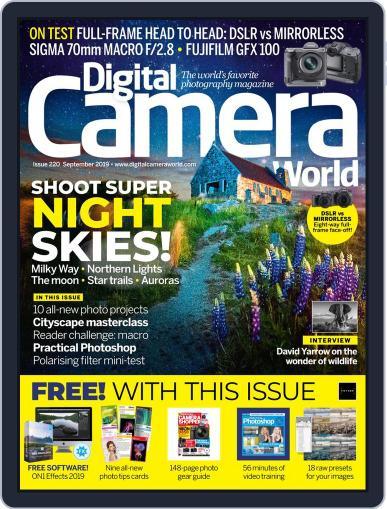 Digital Camera World September 1st, 2019 Issue Cover