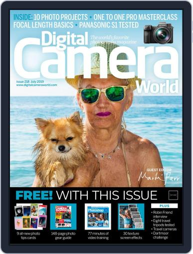 Digital Camera World July 1st, 2019 Digital Back Issue Cover