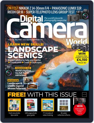 Digital Camera World May 1st, 2019 Issue Cover