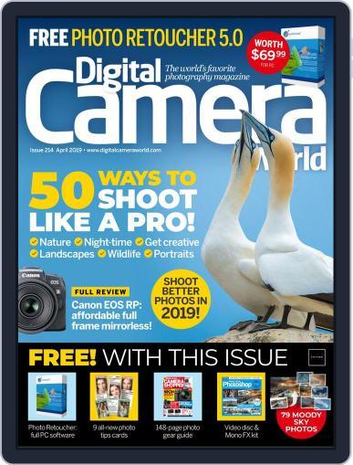 Digital Camera World April 1st, 2019 Digital Back Issue Cover