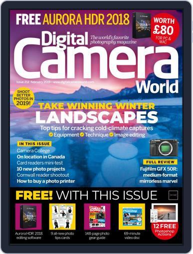Digital Camera World February 1st, 2019 Issue Cover