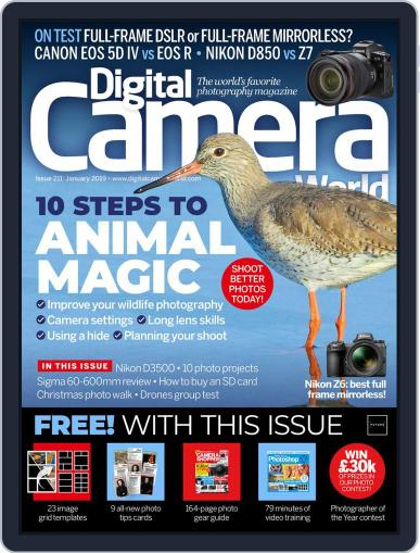Digital Camera World January 1st, 2019 Issue Cover