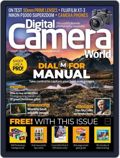 Digital Camera World December 1st, 2018 Digital Back Issue Cover