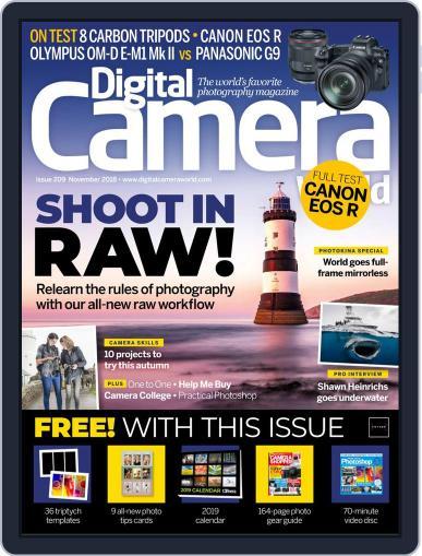 Digital Camera World November 1st, 2018 Issue Cover