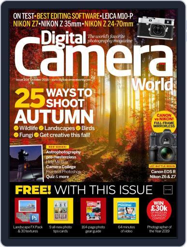 Digital Camera World October 1st, 2018 Digital Back Issue Cover