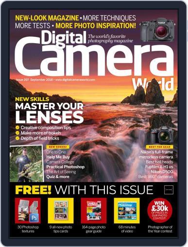 Digital Camera World September 1st, 2018 Issue Cover