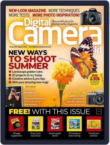 Digital Camera World August 1st, 2018 Digital Back Issue Cover