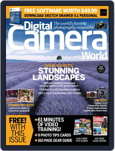 Digital Camera World July 1st, 2018 Issue Cover