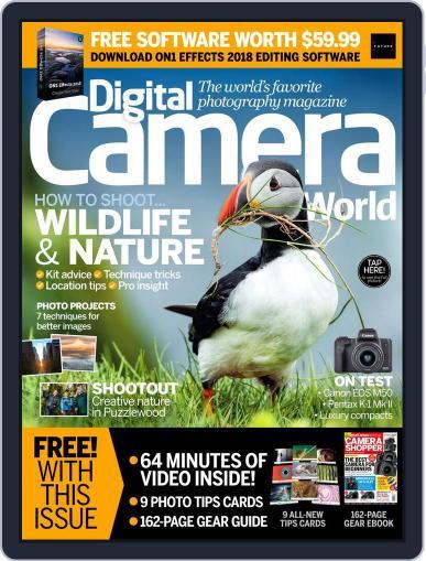 Digital Camera World June 1st, 2018 Digital Back Issue Cover