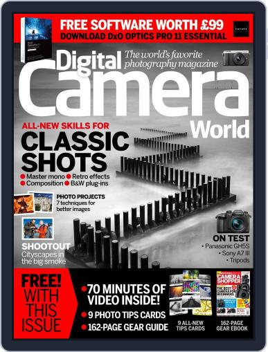 Digital Camera World May 1st, 2018 Issue Cover