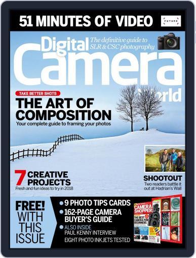 Digital Camera World February 1st, 2018 Issue Cover
