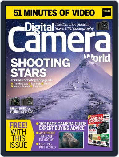 Digital Camera World January 1st, 2018 Issue Cover