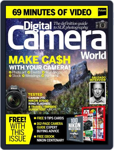Digital Camera World August 1st, 2017 Issue Cover