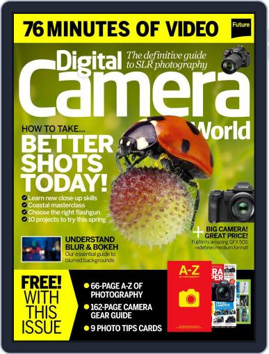 Digital Camera World May 1st, 2017 Issue Cover