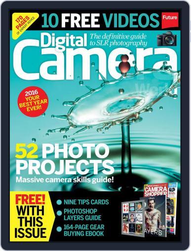 Digital Camera World February 1st, 2016 Issue Cover