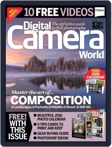 Digital Camera World November 6th, 2015 Digital Back Issue Cover