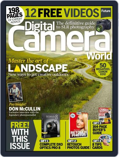 Digital Camera World April 1st, 2015 Issue Cover