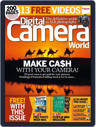 Digital Camera World September 19th, 2014 Digital Back Issue Cover