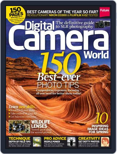 Digital Camera World March 27th, 2014 Issue Cover